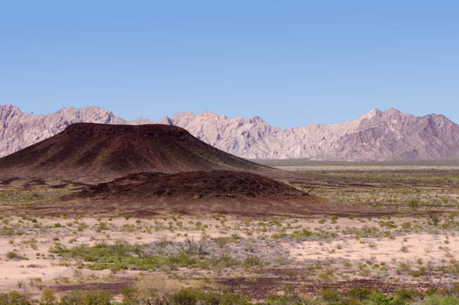 Pinacate Lava Flows and cinder cones